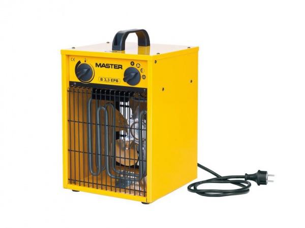 Elektrický ohrievač Master do 4 kW, B 3,3 EPB