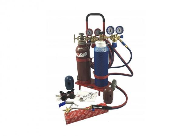 Autogén na zváranie (kyslík, acetylén + horáky)