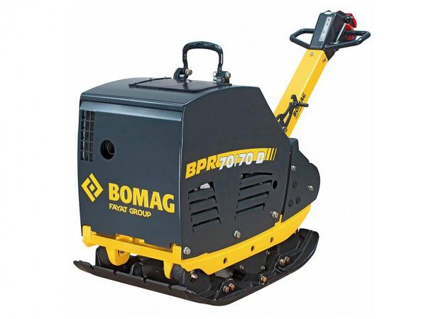 Vibračná doska Bomag BPR70/70D, 600 kg